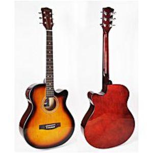 Forbes StoreSunburst 40 inch cutaway linden body acoustic guitar