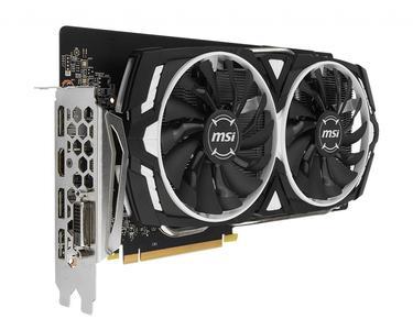 MSI Armor GeForce GTX 1060 OC Edition 6GB 192Bit
