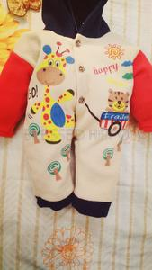BlessedHippo Polar Fleece Winter Jumpsuit in 3 Color Combination Specially Designed For Born Baby  (0-3 Months)