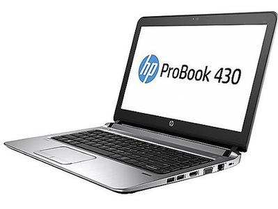 Hp Probook 430 G3 i5 6th Gen 8Gb DDR4/DDR3 Ram 256Gb SSD M2 Sata 13.3-Black Refurbished with Bag