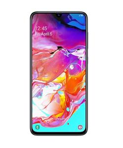 Galaxy A70   A display that gives more room to play The Galaxy A70's maximized 6.7-inch screen brings you even closer to the things you love by bringing it all to life on the FHD+ sAMOLED Infinity-U display. Whether streaming or watching your favor