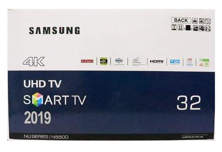 UHD 4K Resolution 32'' Smart LED Tv , 2 Years Warranty With Free Wall Mount and 32GB USB Drive