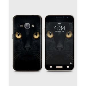 Samsung Galaxy J1 2016 (J110) Skin Wrap With Front Back And Sides Tom Cat-1Wall578