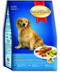 SMART HEART  DRY FOOD DOG CHICKEN AND EGG FLAVOR 20 KG