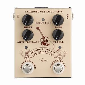 CALINE Preamp DI Box For Acoustic Guitar
