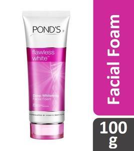 Pond's Flawless White Deep Whitening Facial Foam (Thailand) - 100 g