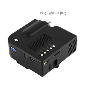 EF UC28+ Mini Portable HD Projector Home Cinema Theater Upgraded HDMI Interface