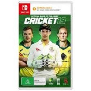 Cricket 19 - The Official Game of the Ashes - Nintendo Switch