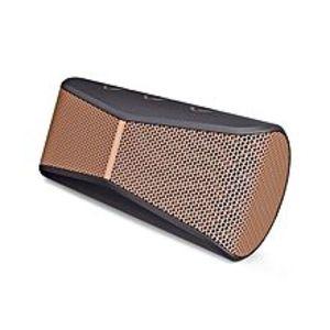LogitechX300 - Mobile Wireless Stereo Portable Speaker - Black & Brown