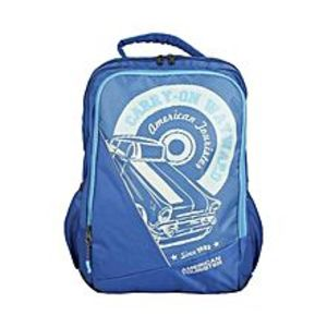 American Tourister Pack of 2 - At Pop II Backpack + Pencil Case - Classic Blue