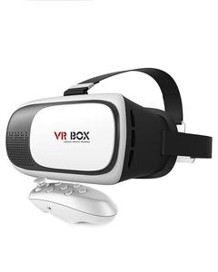 VR Glasses For All Smartphones With Bluetooth Remote - White