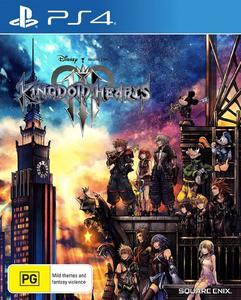 KINGDOM HEARTS 3 PS4 DVD