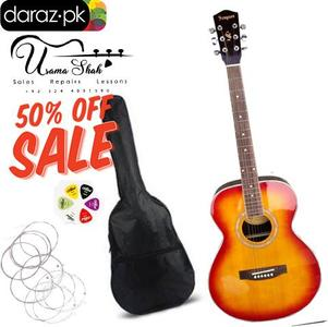 Semi Acoustic Original Sampson Guitar For Sale With All Acessories. 50% Off Never Miss Offer Limited Time