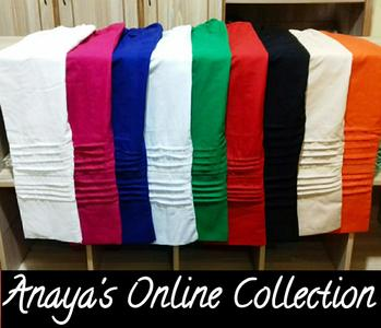 Anaya's Winter Collection Stylish Women's Trouser in Linen Fabric Available in Different Colour's