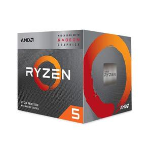 "AMD Ryzenâ""¢ 5 3400G Processor 4-Core 3.7 GHz (4.2 GHz Max Boost) with Radeonâ""¢ RX V.e.g.a 11 Graphics"