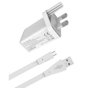 Flash Charger for Infinix Phones - White