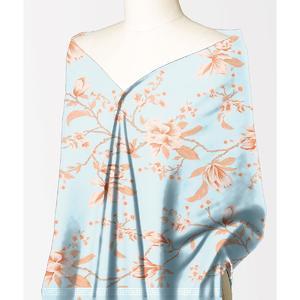 Alkaram Studio Silver Collection Blue Lawn 1PC Unstitched Suit For Women -A132222102