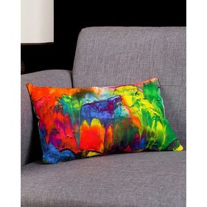 Multi Color Cotton Canvas Extreme Cushion Cover