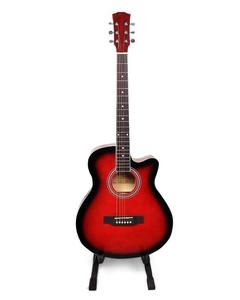 """40"""" Acoustic Guitar - Red"""