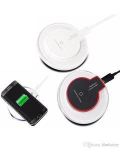 Wireless FANTASY Fast Charger For iPhone & Samsung with mirco USB charging receiver - Black