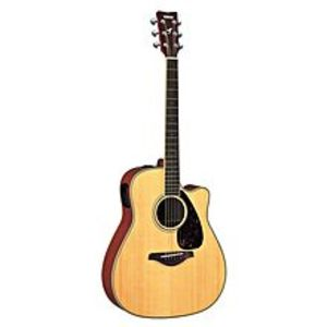Yamaha41''C Semi-Acoustic Guitar - Brown With Tuner-Eq + Bag + Strap