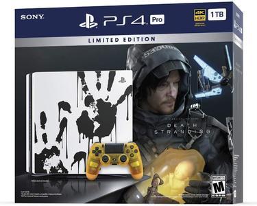 Death Stranding Bundle PlayStation 4 Pro 1TB Limited Edition Console