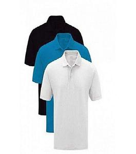 Pack Of 3 - Multicolor Cotton Polo T-Shirts For Men