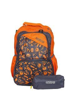 Pack of 2 - At Doodle I Backpack + Pencil Case - Orange Peel