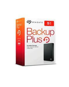 Seagate Backup Plus 5TB Portable External Hard Drive - USB 3.0 - STDR5000102 - Black
