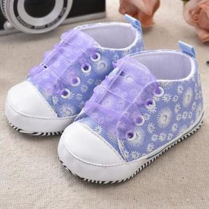 Perfect Meet Kids Baby Girls boy shoes Toddler Kids Baby Girls Printing Bandage Canvas Shoes Newborn Shoes