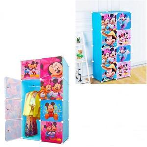 Mickey Mouse Folding Storage Baby's Wardrobe/Cabinet/Organizer