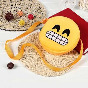 Duang Duang Cute Emoji Emoticon Shoulder School Child Shoulder Bag Satchel Rucksack Handbag