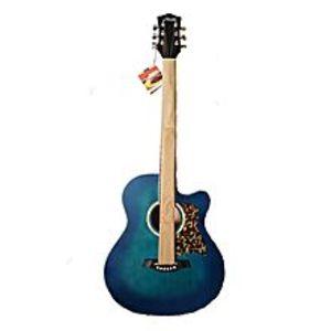 ASAHIJapanese Acoustic Guitar - 40 '' - Blue Burst