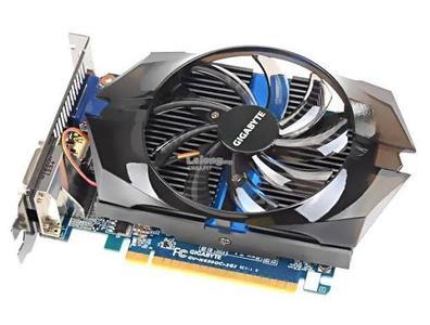 Gigabyte GTX650 GDDR5-2GB 2xDVI/HDMI/D-SUB OC Graphics Card