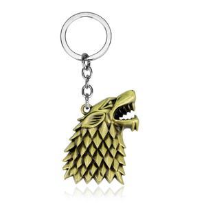 Keychain Action Toy Figures Game of Thrones House Targaryen Model Keyring