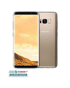 "Galaxy S8+ - 6.2"" Super AMOLED Touchscreen - 4GB RAM - 64GB ROM - Fingerprint Sensor - Maple Golden"