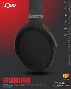 GO LOUD HPBT1020 - WIRELESS PROFESSIONAL HEADPHONE