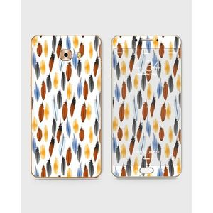 Samsung Galaxy C5 Pro Skin Wrap With Front Back And Sides Feather Pattern-1Wall422