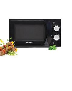 Orient Appliances Microwave Oven - Mint - 20M Solo - Black - 700Watt