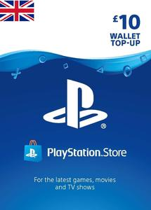PlayStation Gift Card 10 GBP - United Kingdom