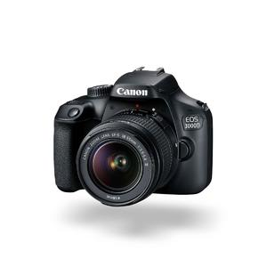 Canon EOS 3000D 18-55mm + 32gb SD 80mb