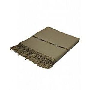 DesiBazaarBrown Wool Handmade Shawls for Men