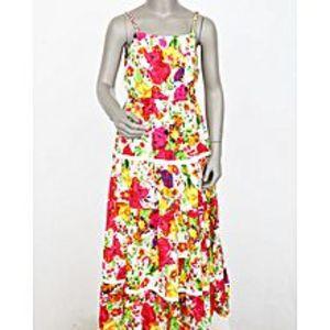 INCMulticolor Girls Floral Maxi Dress