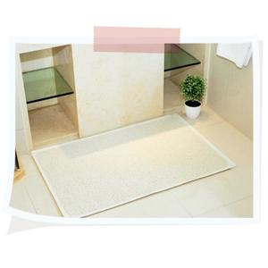 Bathroom Safety Carpet PVC Bath Shower Rug Anti-slip Mat with Non-slip Suction Cup