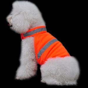 Dog Pet Reflective Vest Hunting Safety Jacket High Visivility Neon Colorfluorescent orangre M