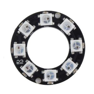 LED Ring 8 x WS2812B 5050 RGB Integrated Drivers Arduino Bit Y45 Led Rings