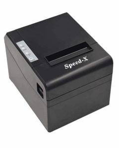 Speed-X200 Thermal Receipt Printer Usb+Rs232 - Black