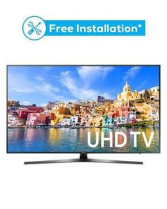 "MU7350 - 49"" Curved 4K UHD Smart LED TV - Black"