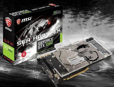 Geforce GTX 1080 Seahawk Ek X 8GB GDDR5X (256-bit) Graphic Card