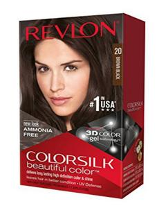 Color Silk 3D Technology USA For Men and Women No 20 Brown Black